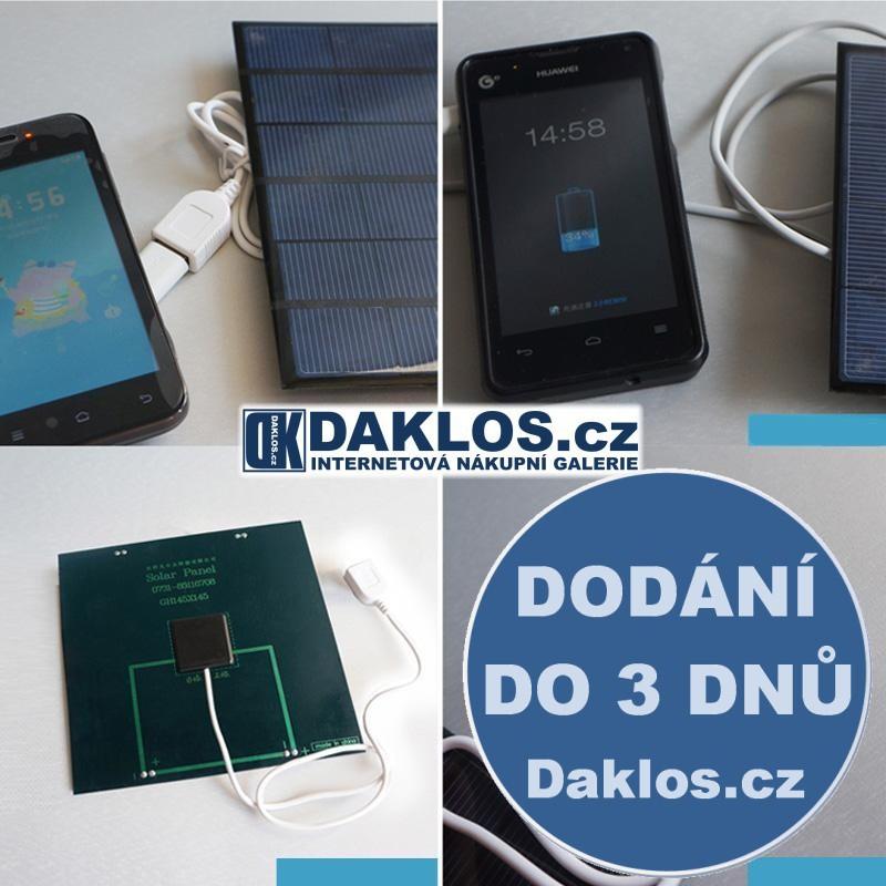 Solární nabíječka / článek s USB pro tablet / telefon DKAP038418