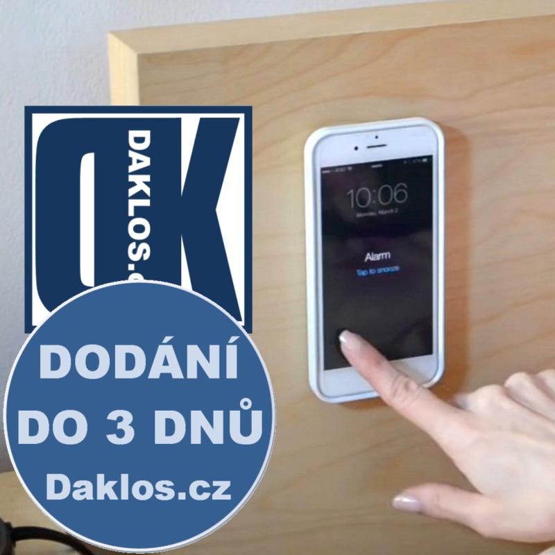 Antigravitační a ochranný kryt / obal na iPhone 5 5S SE, Barva Černá DKC131844185910