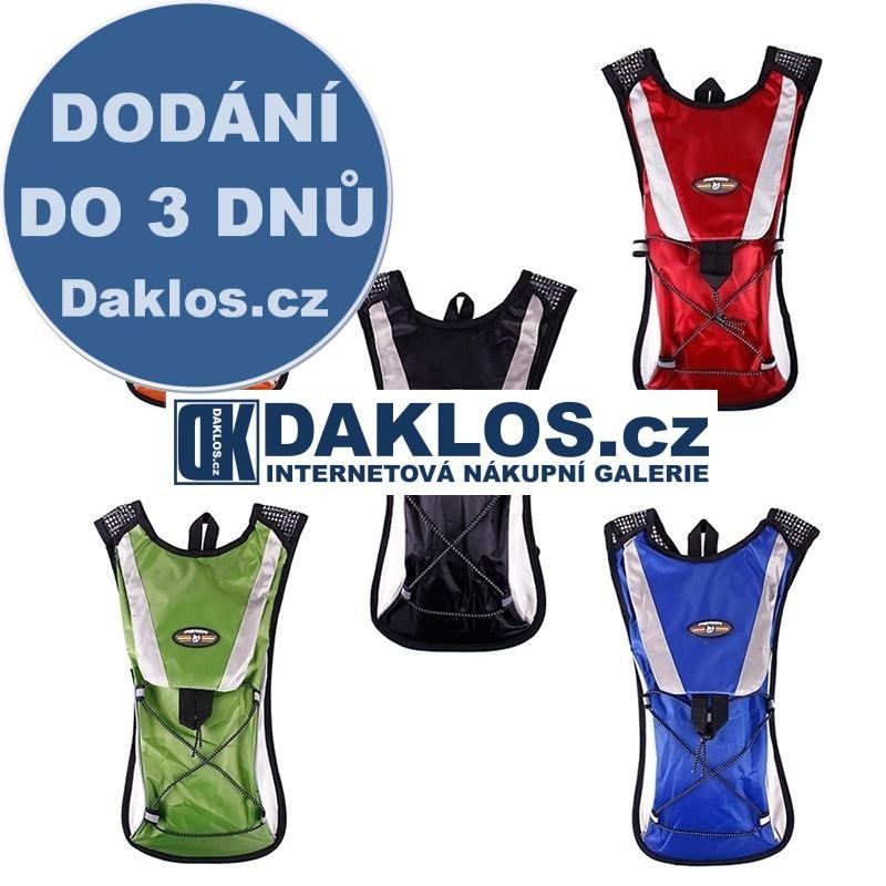 Batoh na kolo pro vak na pití (vodu) - 2 l, Barva Černá DKAP046458
