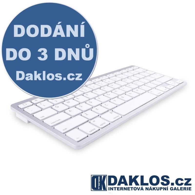 Bluetooth 3.0 klávesnice pro počítač, chytré telefony, tablety a jiná zařízení DKC262424694159