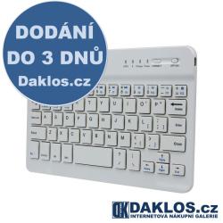 Ultra tenká bluetooth klávesnice pro počítač, chytré telefony, tablety a jiná zařízení