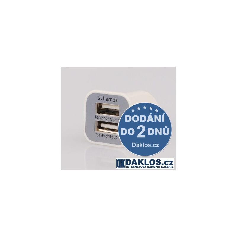 Nabíječka Adapter do auta 12V dual USB (2,1A + 1A) DKK4417924
