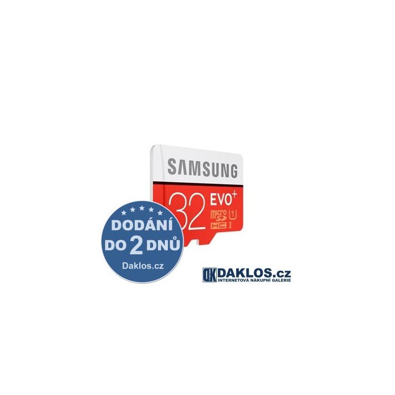 Micro SD 32 GB Samsung EVO Class 10 + adapter zdarma DKK425566