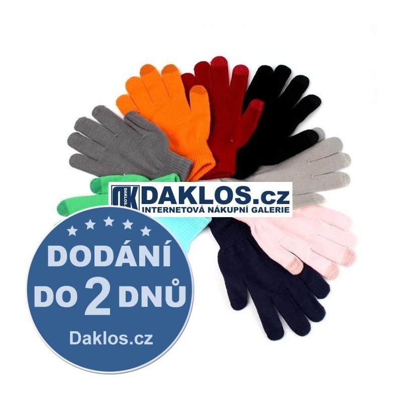 Rukavice pro dotykový displej, Barva Černá DKAP054444