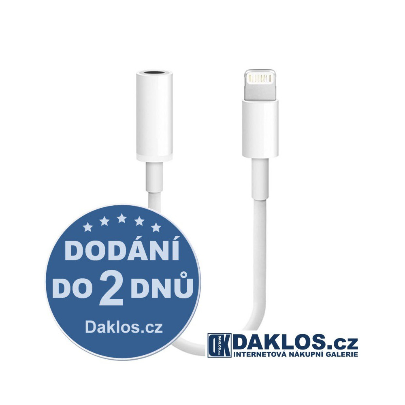 Lightning adaptér / kabel pro 3,5mm jack pro Apple DKAP078657