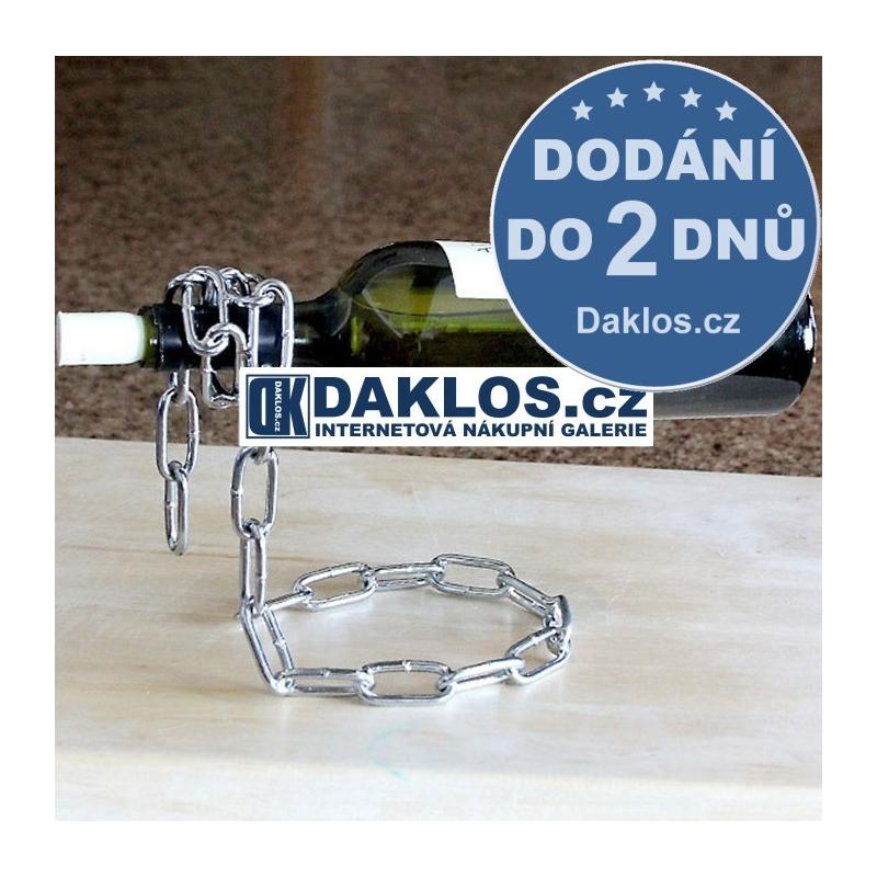 Držák / Stojan na lahev vína - řetěz / pro víno DKAP021493