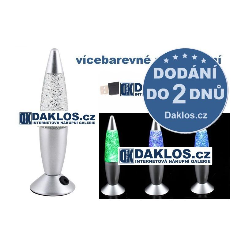 USB lávová lampa / Lava lampa - vícebarevná DKAP002614