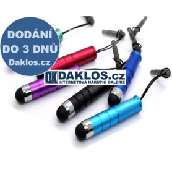 Pisátko / dotykové pero / stylus s uchycením v 3,5 mm Jacku