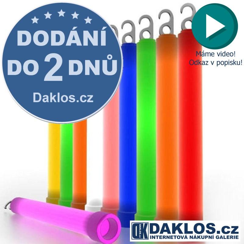 Neonová signální svíticí tyčinka na přežití / párty / koncert DKC201849142975