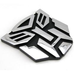 Transformers autobot logo 3D nálepka na auto