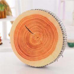 Polštář ve tvaru polena / dřeva - Poleno / Dřevo