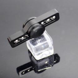 Černý kovový Fidget Spinner BALLER / Spinee proti stresu / Antistresové ložisko v kovové krabičce