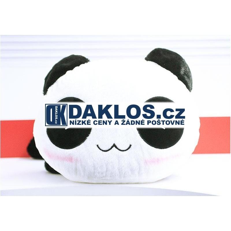 Gigantická - 45 cm - plyšová panda - polštář - 100% bavlna DKAP042708