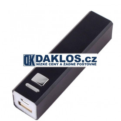 Externí USB nabíječka s 2600 mAh baterií / Baterie / Dokovací stanice