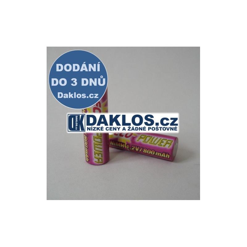 1x Nabíjecí AA baterie GRAUPNER NiMH 800 mAh / 1,2V - ECO POWER DKD0000009
