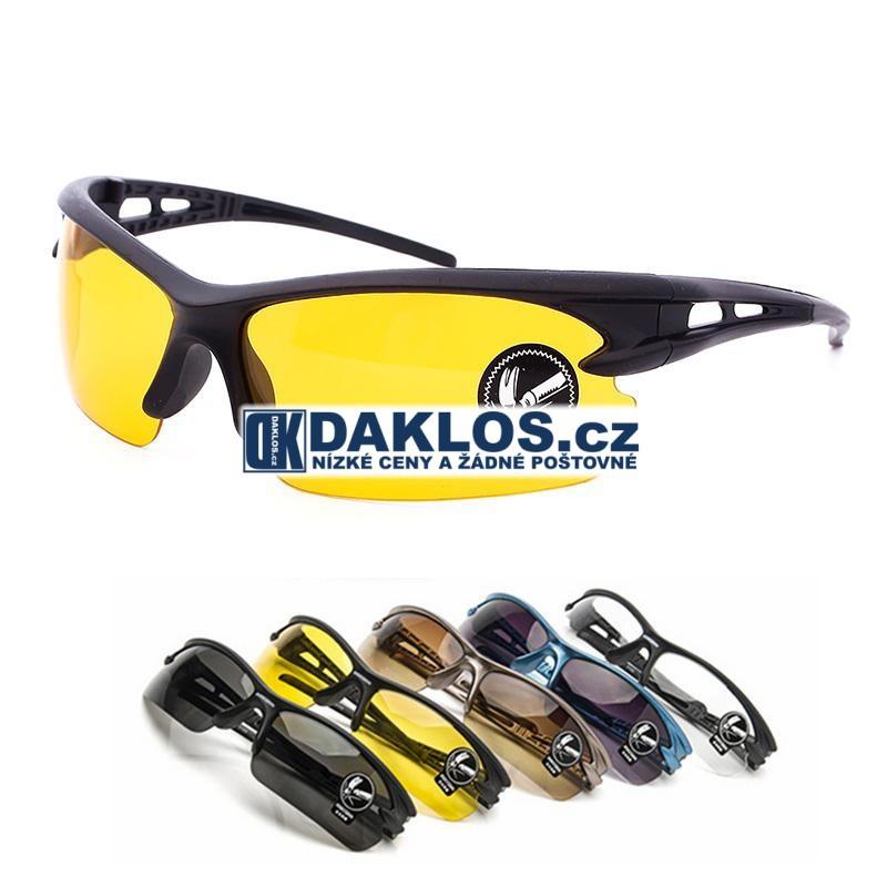 Sportovní / Cyklistické / Ochranné brýle - různé varianty, Kombinace brýlí Pro noční vidění DKAP054541