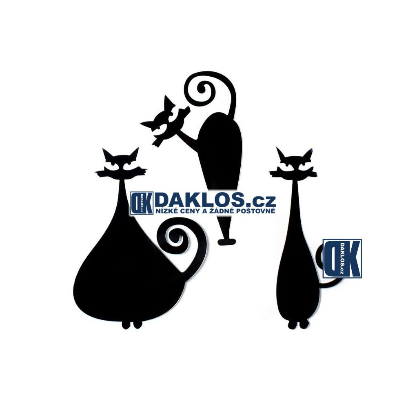 Dekorace kočka na zeď DKCP053889