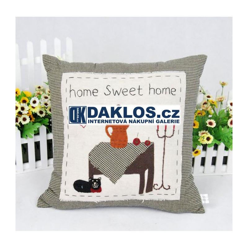Potah na polštář - Sladký domov DKAP057024