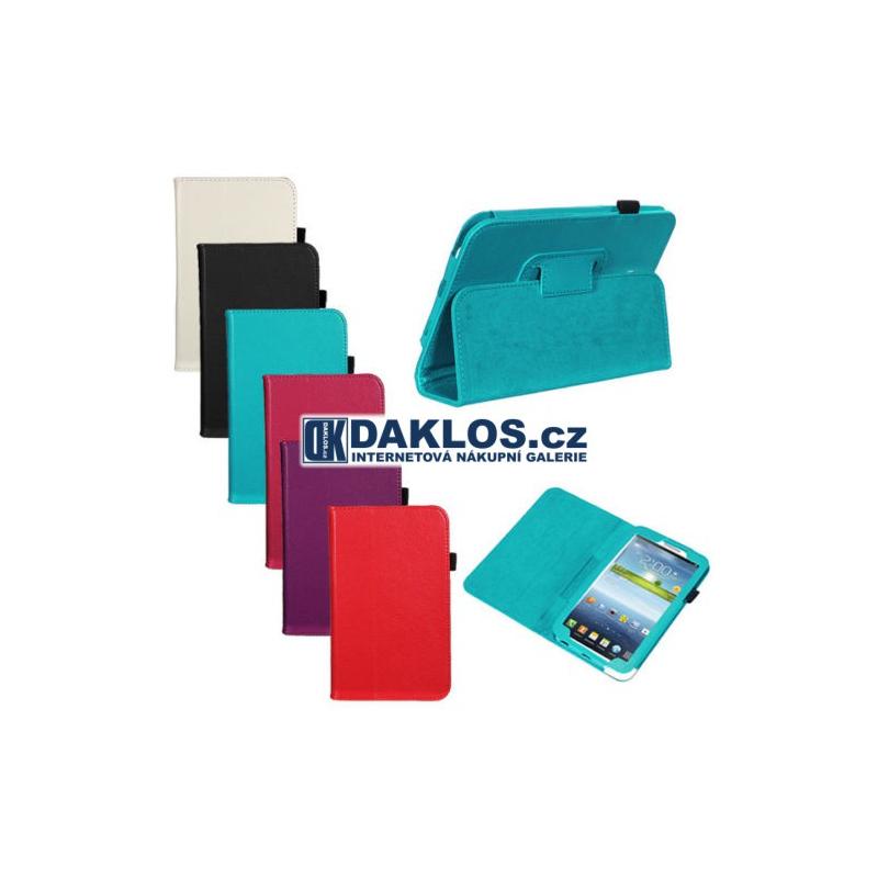 "Kryt / obal / stojan / držák pro tablet Samsung Galaxy Tab 3 7.0 7"" P3200 P3210, Barva Černá DKC360998626824"