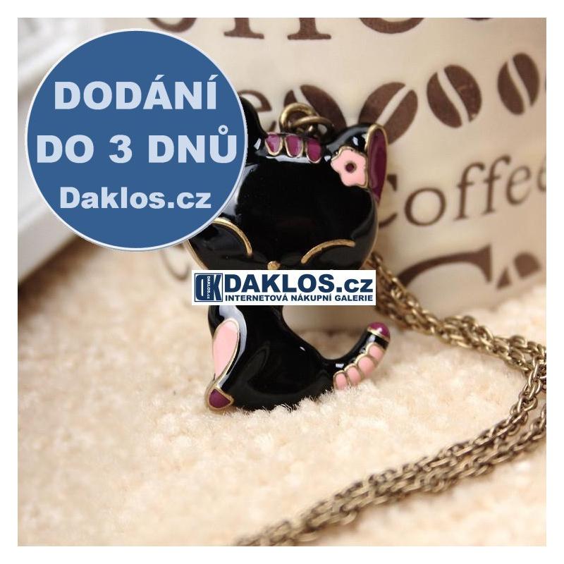Náhrdelník / přívěsek ve tvaru kočky DKAP039640