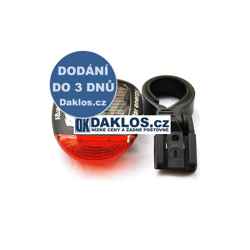 Solární LED zadní červené světlo na kolo DKAP001628