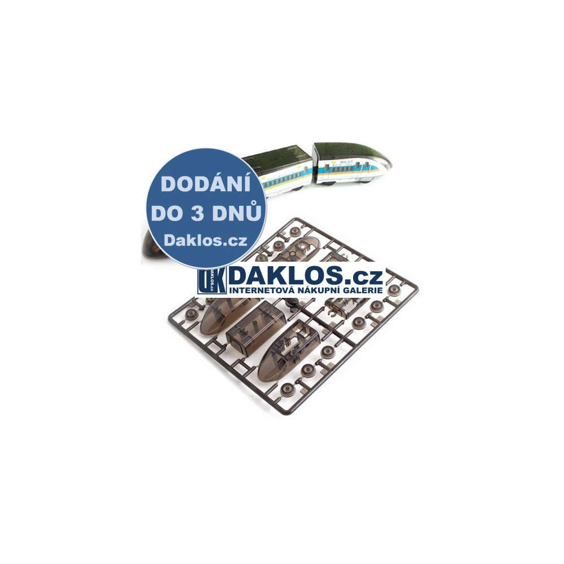 Solární stavebnice - vlak / hračka na solární pohon DKAP003185
