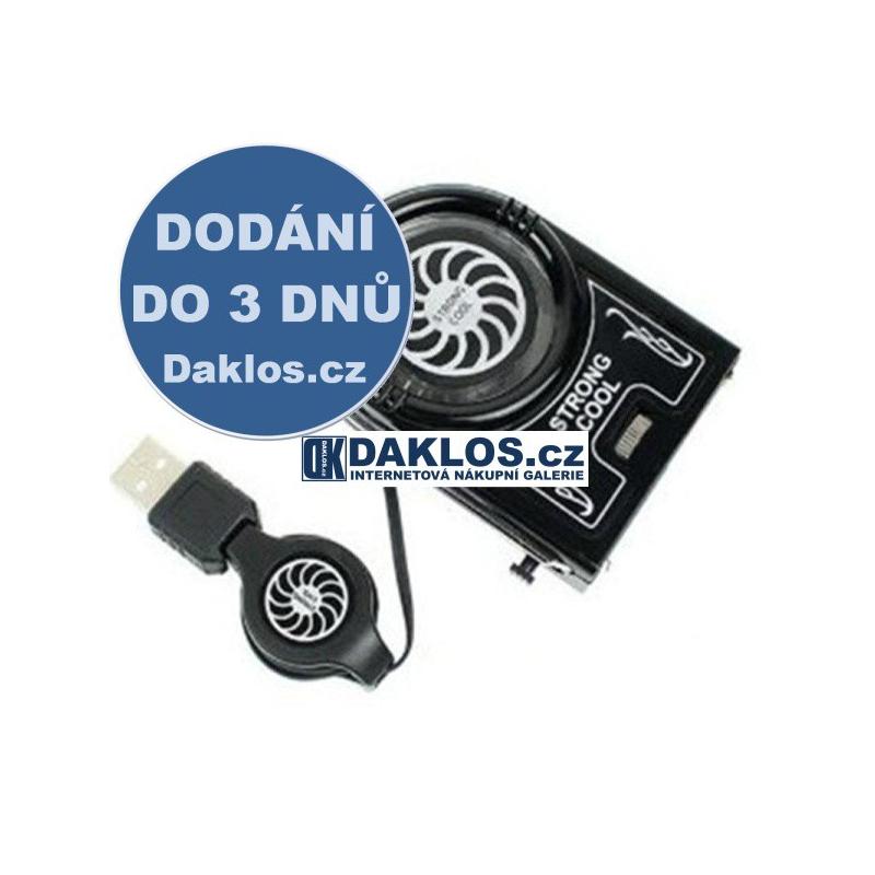 USB chladicí větráček / ventilátor pro notebook DKAP039584