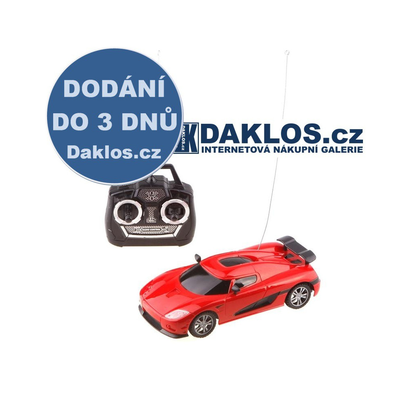 Auto / Supersport / Hypersport na dálkové ovládání 1:24 DKAP063779