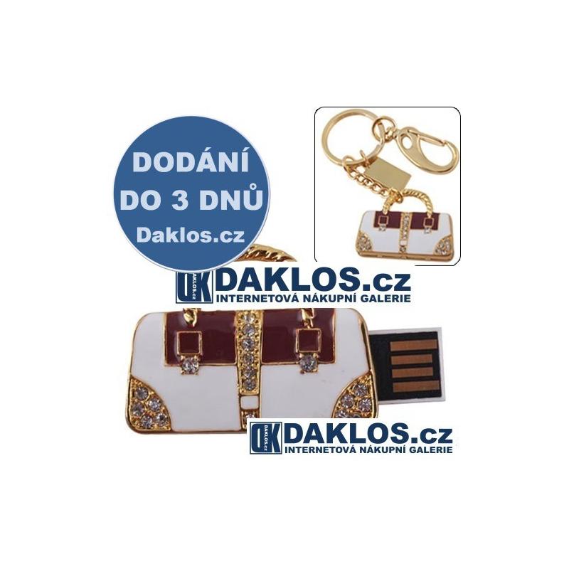 USB Flash disk / Fleška 8 GB ve tvaru kabelky / Kabelka DKAP011031