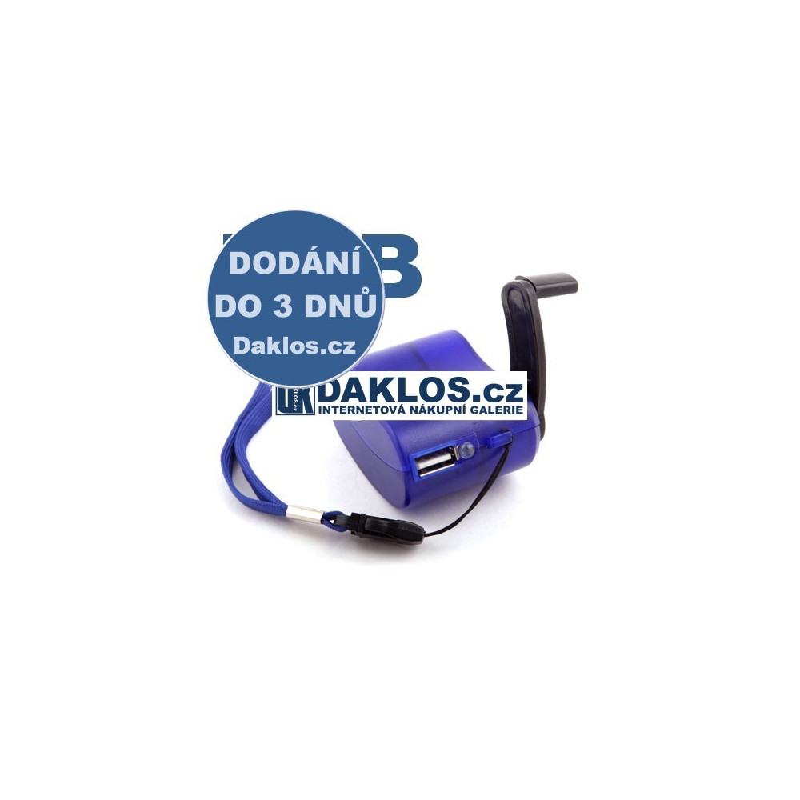 Externí USB nabíječka / DYNAMO / pro mobil / tablet DKAP001398