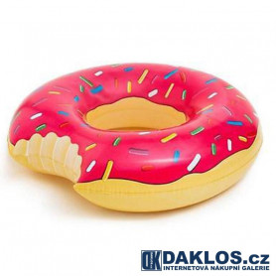 Nafukovací nakousnutý donut / americká kobliha