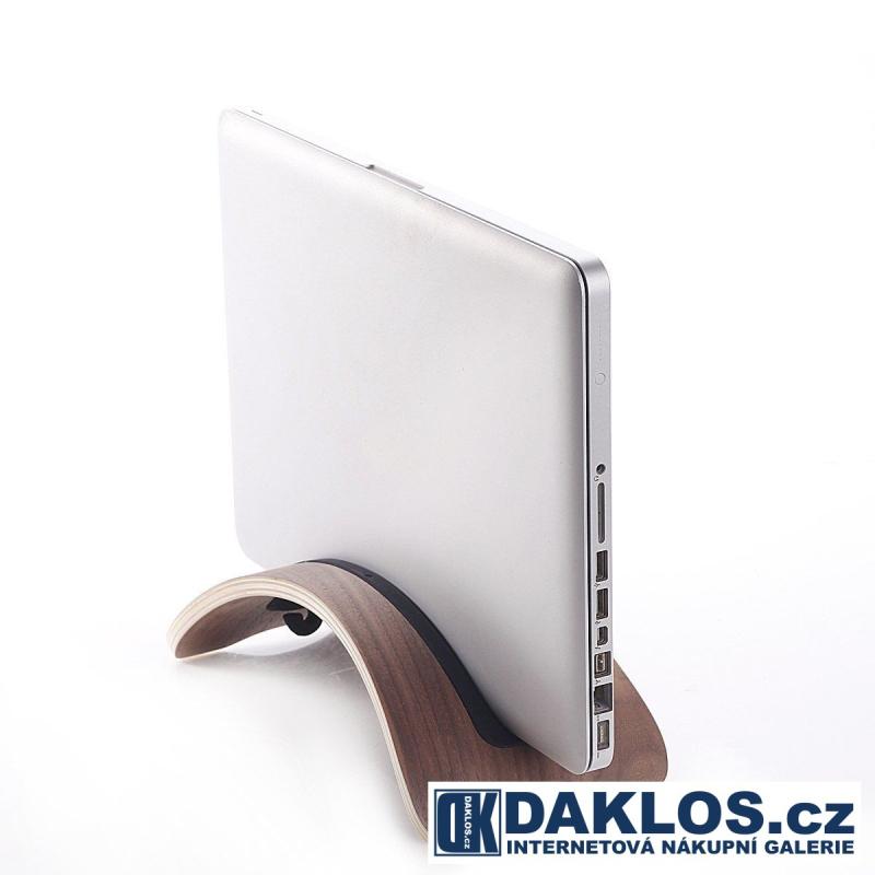 Exkluzivní dřevěný stolní držák / stojánek na MacBook / notebook / laptop , Barva Světle hnědá DKC262334503013