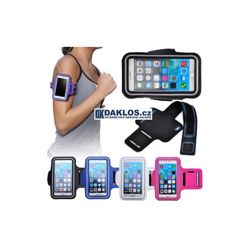 """5.5"""" Obal / Kryt na běhání / sport nejen pro Samsung Note 2 / 3 / 4 / iPhone 6 Plus, Barva Černá DKC131549738479"""