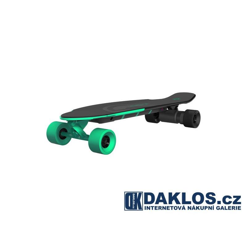 Elektro skateboard / Skate / E-longboard - zelený + DOPRAVA ZDARMA DKWELZ
