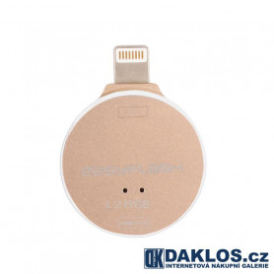 USB Flash disk OTG 128 GB pro IOS iPhone / iPad / iPod - kovová