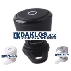 Mini bluetooth headset / Hands-free - 3 barevné vatianty