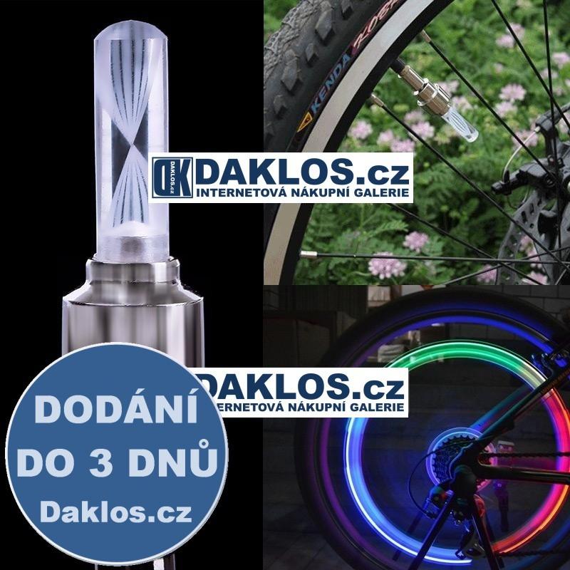 LED tyčinka / dekorace na ventilek na kolo / auto / motocykl