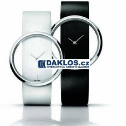 Elegantní moderní dámské hodinky - bílé / černé