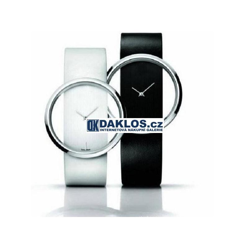 Elegantní moderní dámské hodinky - bílé   černé - Daklos.cz ... d595fc57e7