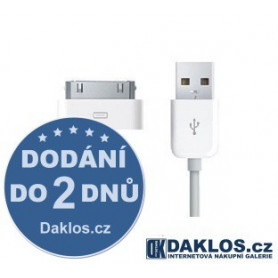 Data kabel iPhone 4, 4S, 3GS, 3G, iPod USB Apple original MA591G/A