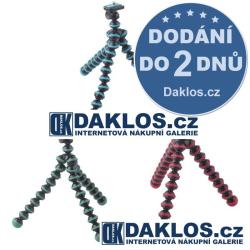 Mini flexibilní stativ / držák pro fotoaparát - 3 barevné varianty