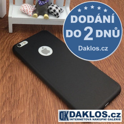 Silikonový kryt pro iPhone 6 Plus 6S Plus - černý