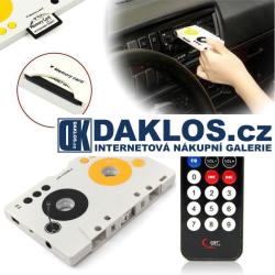 Kazetový adaptér / kazeta / MP3 přehrávač do rádia nejen do auta