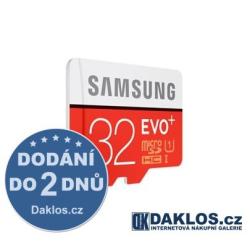 Micro SD 32 GB Samsung EVO Class 10 + adapter zdarma