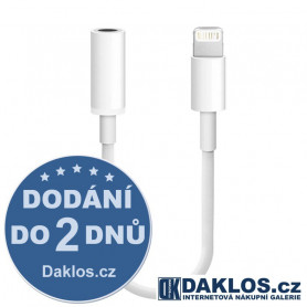 Lightning adaptér / kabel pro 3,5mm jack pro Apple iPhone 7