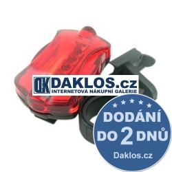Zadní červené LED světlo / blikačka na kolo