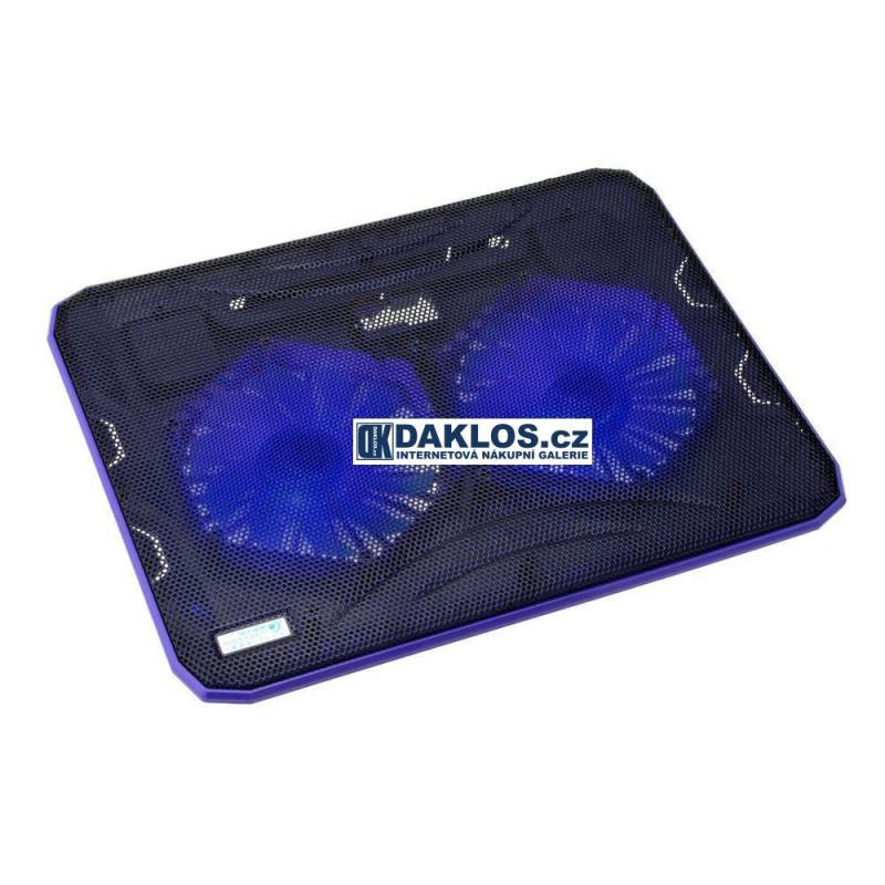 e2e9e89fb Generace · Chladící podložka pod / pro notebook s ventilátorem (2  ventilátory) - 2.