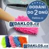 Rukavice / Hadřík / Hadr nejen pro mytí auta z mikrovláken / na auto