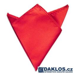 Společenský kapesníček / kapesník do saka - červený