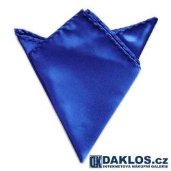 Společenský kapesníček / kapesník do saka - královsky tmavě modrý